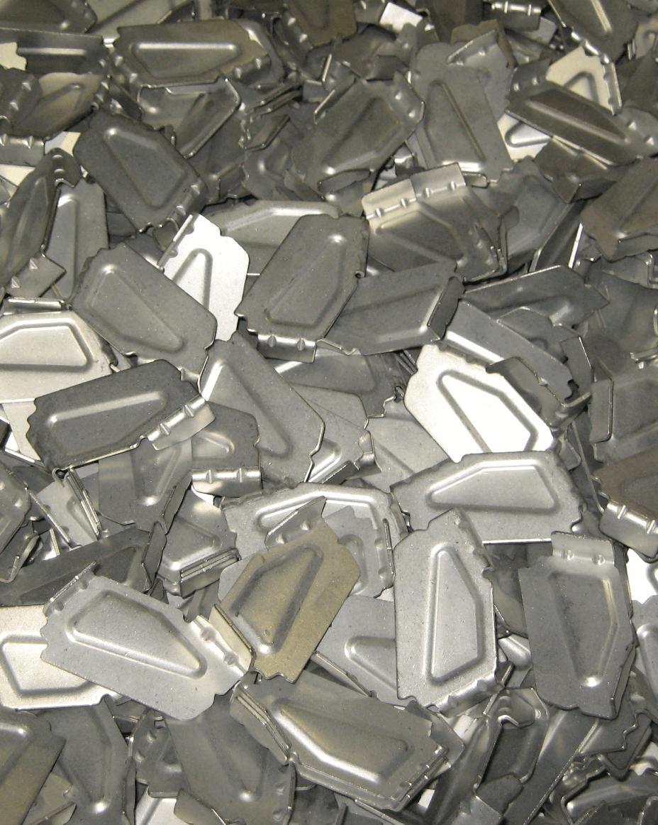 media blasting metal parts